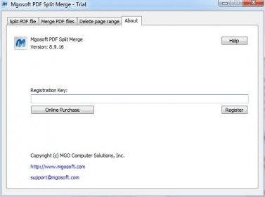 MgoSoft PDF Split Merge Download Free Version (PDF Split