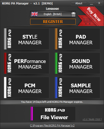 KORG PA Manager  Get the software safe and easy