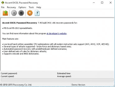 accent word password recovery 7.92 registration key