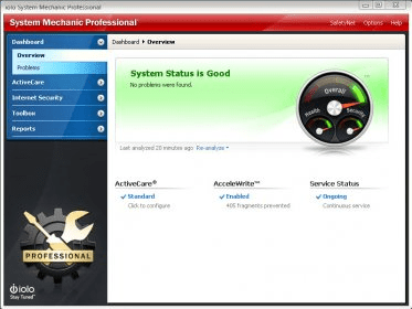 System Mechanic Professional 12 5 Download Free Trial