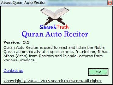 logiciel quran auto reciter