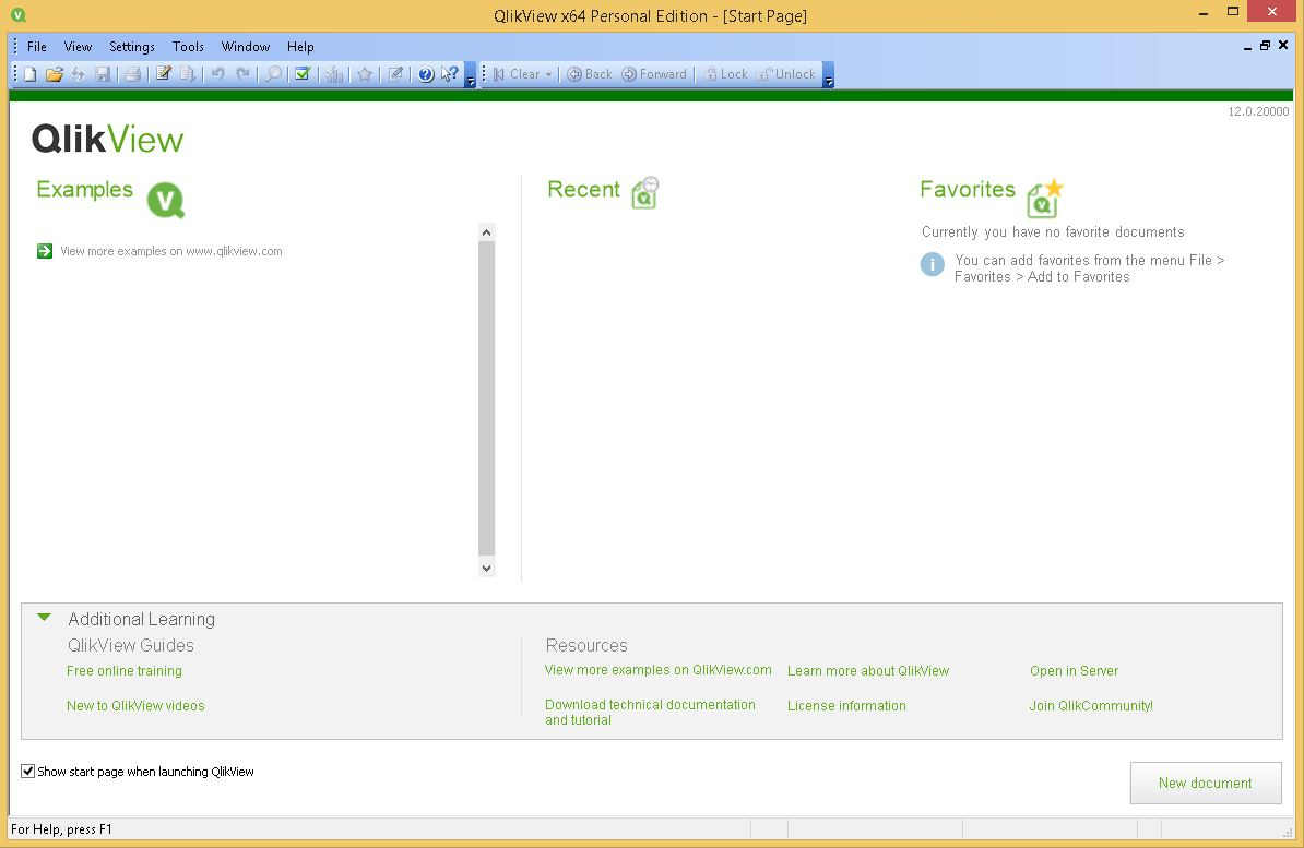 QlikView 11 2 Download (Free trial) - Qv exe