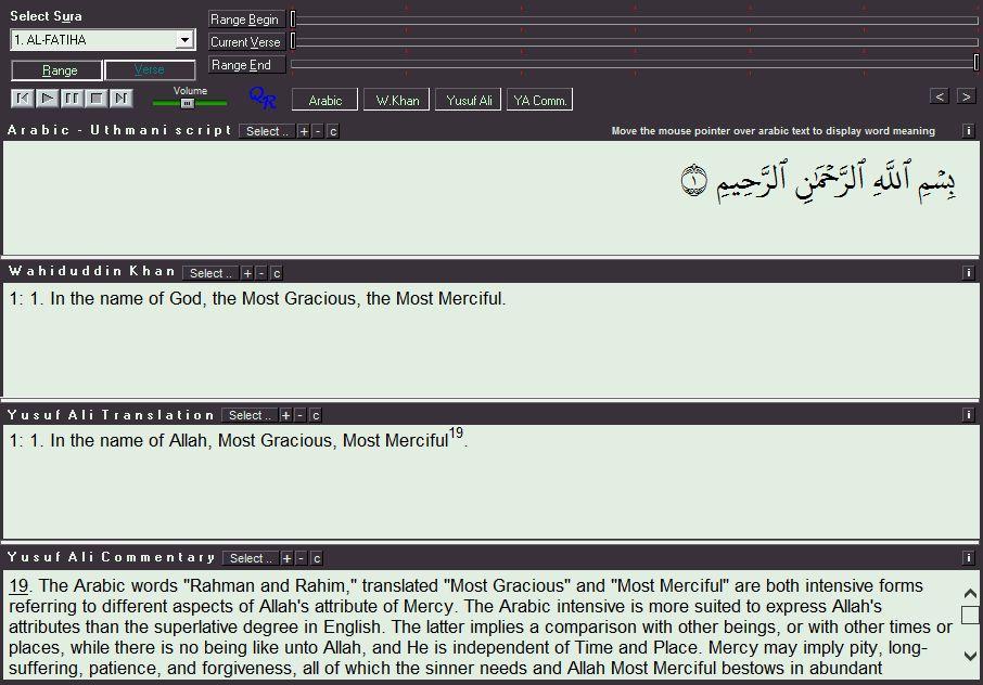 QuranReciter 4 0 beta Download (Free) - QuranReciter 4 0 exe
