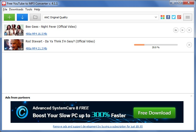 fastest free youtube downloader to mp3 converter 4.2 for windows