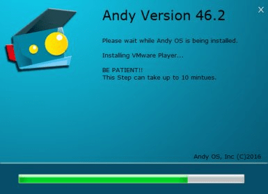 ANDY OS 46 2 Download (Free) - adb exe