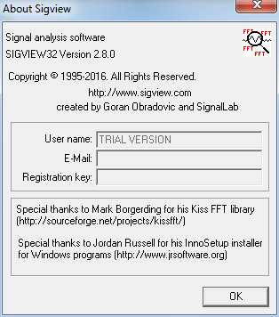 Sigview 2 5 Download (Free trial) - sigview exe