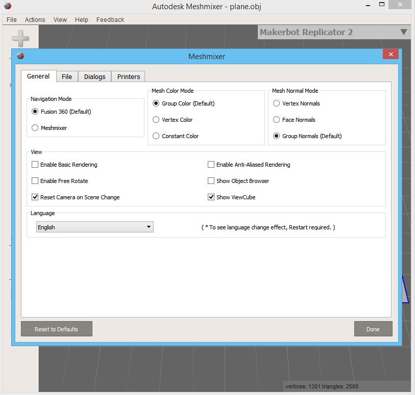 MeshMixer 10 9 Download (Free) - meshmixer exe