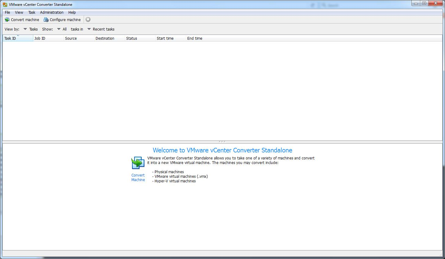 VMware vCenter Converter Standalone 5 5 Download (Free