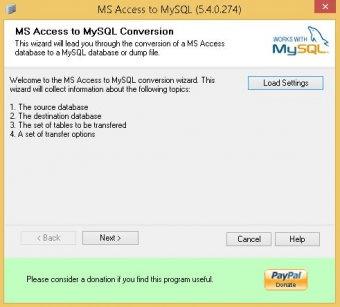 Bullzip MS Access to MySQL Download - Bullzip MS Access to