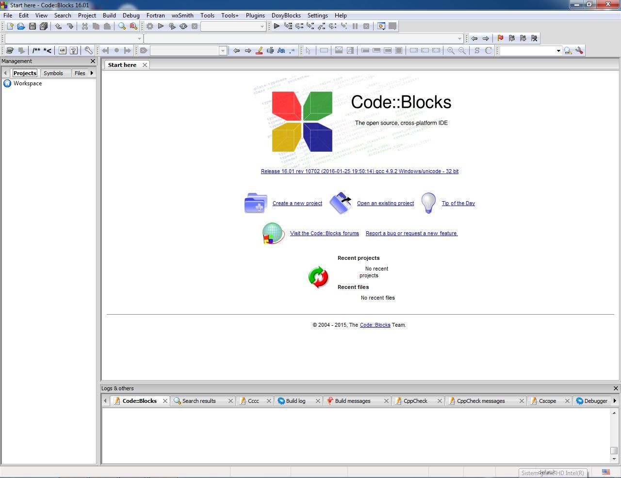 Code::Blocks 17 1 Download (Free) - codeblocks exe