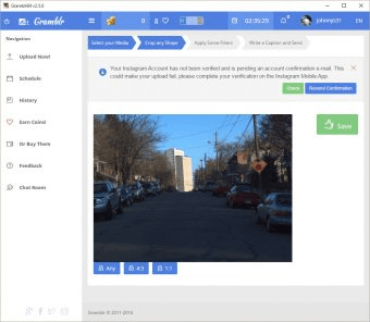 Gramblr - Software Informer  Gramblr is a handy and neat photo