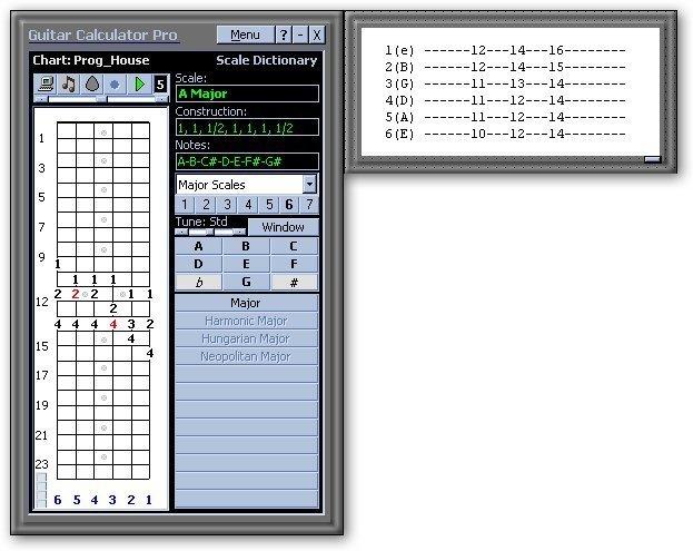Guitar Calculator-Example 3