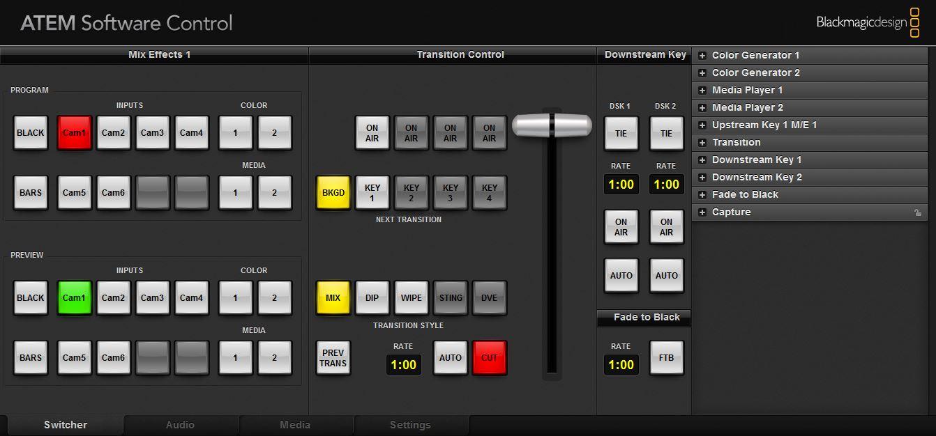 Blackmagic Atem Switchers 6 0 Download