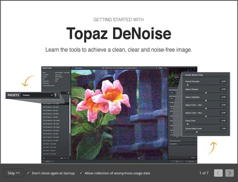Topaz Denoise AI new software review