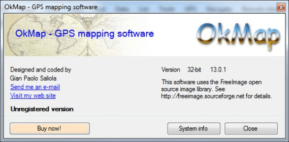 OkMap Download - GPS mapping software that will allow you to import