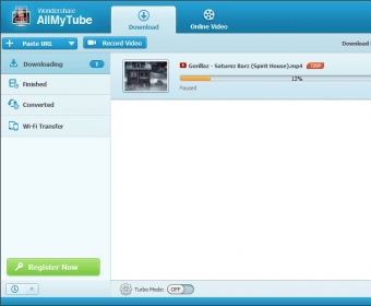 Wondershare AllMyTube - Downloads\ online videos and make