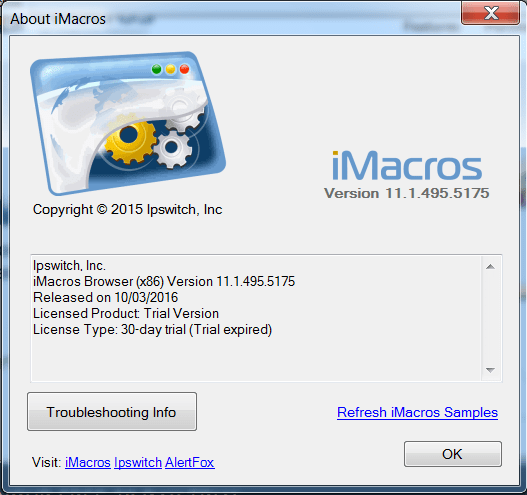 iMacros  Get the software safe and easy