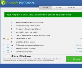 onesafe pc cleaner activation key
