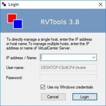 RVTools 3 9 Download (Free) - RVTools exe