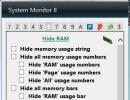 Hide RAM Options
