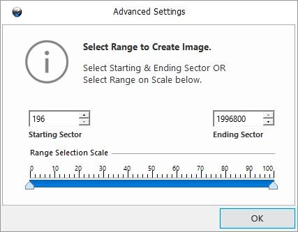 Select Image Range