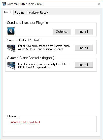 Summa Cutter Tools 1 1 Download (Free) - SCT exe