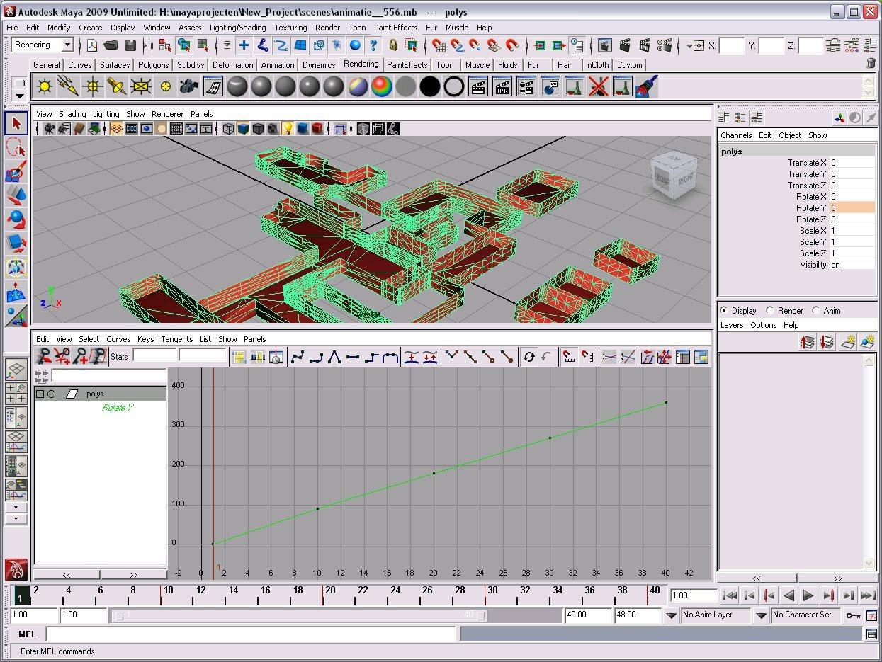 Animation curve editor