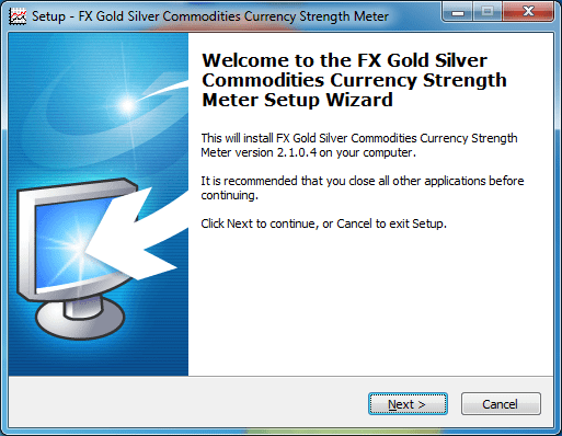 FX Gold Silver Commodities Currency Strength Meter