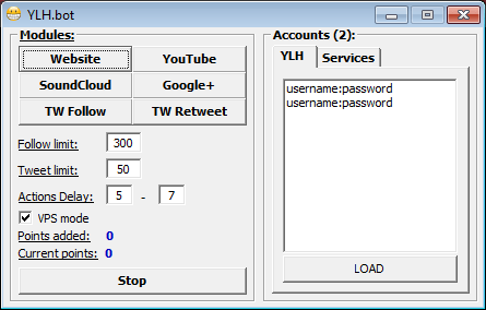 YLH bot 1 3 Download (Free) - YLH bot exe