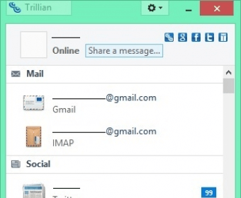 Trillian - Software Informer  Trillian is an instant messenger that