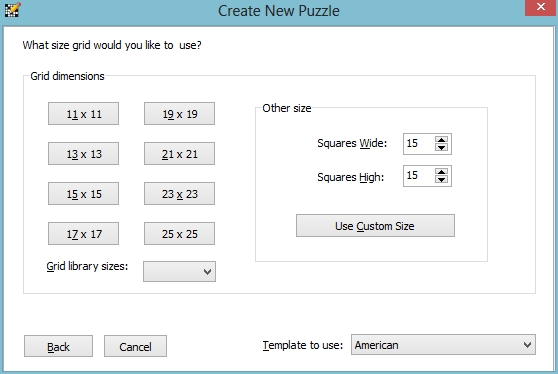 New Puzzle Options