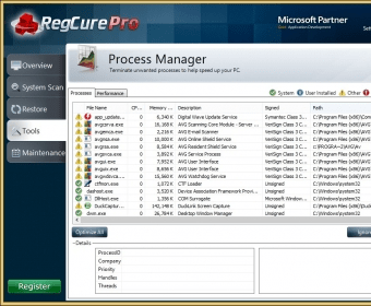 regcure pro 3.1.7 license key
