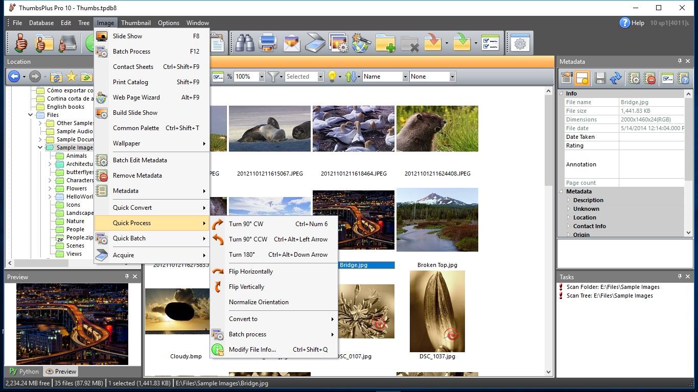 Thumbsplus pro 10 manage, edit and convert photos, digital.