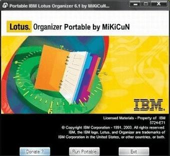 lotus organizer 6.1 free