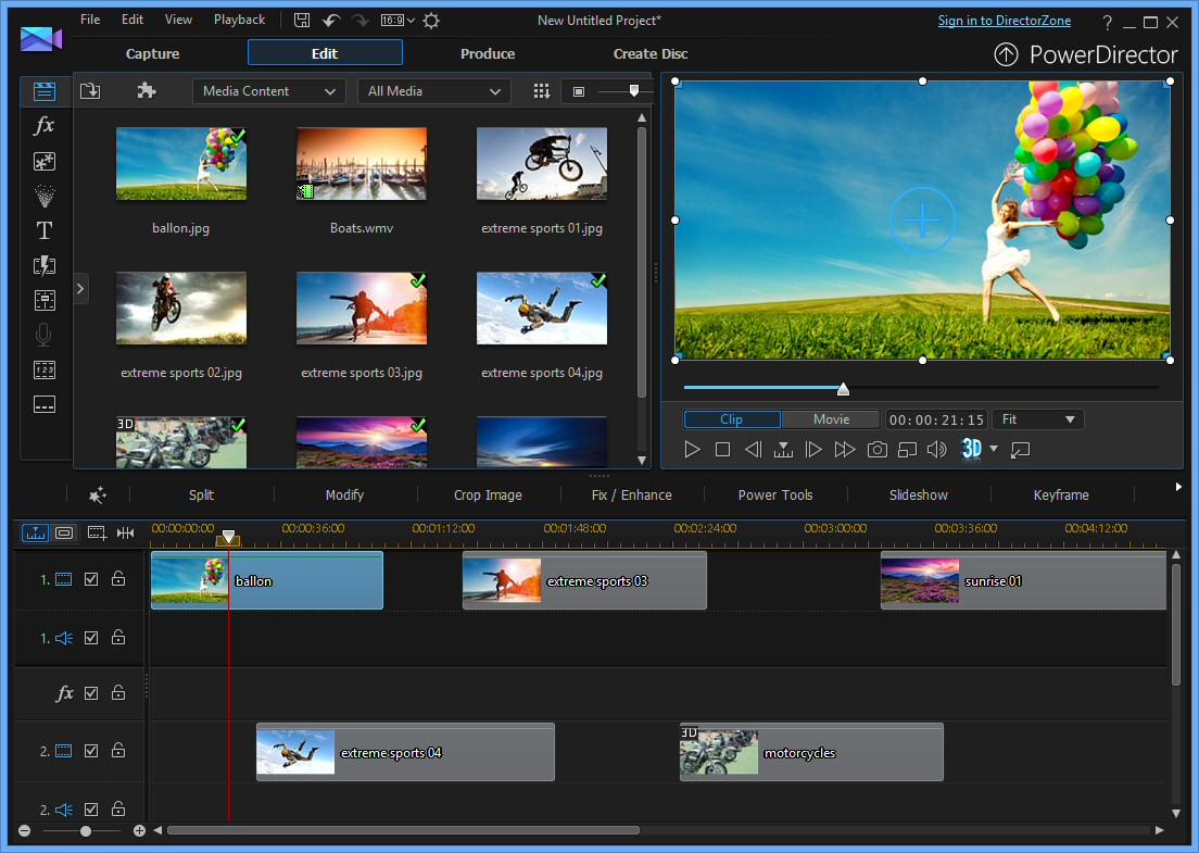 cyberlink powerdirector video effects free download