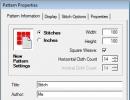 Pattern Properties