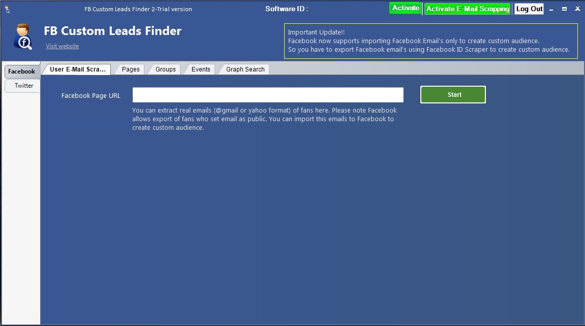 FB Custom Leads Finder 3 0 Download (Free trial)