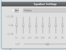 Equalizer Settings