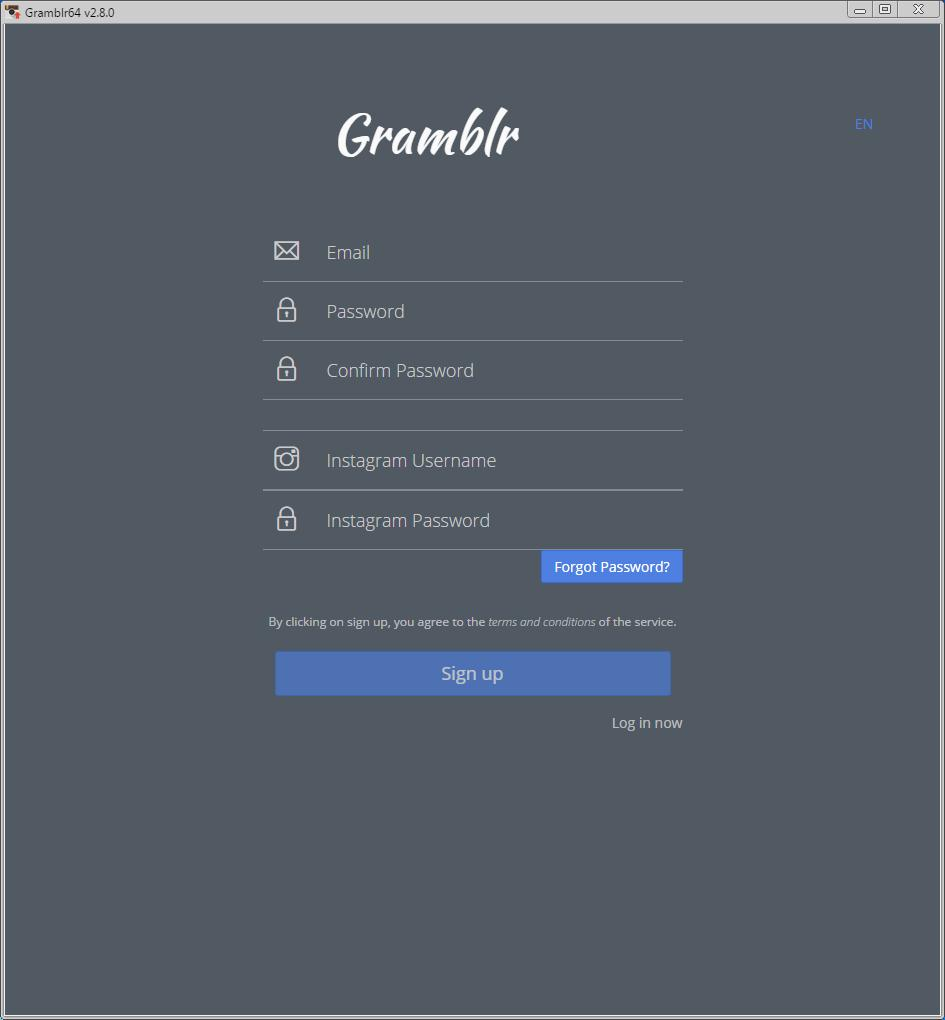 Gramblr 2 7 Download (Free) - gramblr 2 7 6 (x64) exe
