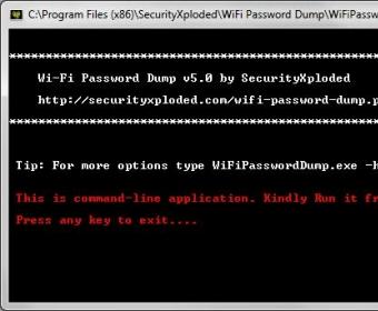 WiFi Password Dump 5 0 Download (Free) - WiFiPasswordDump exe