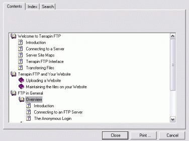 Terrapin FTP Download - FTP application to transfer files