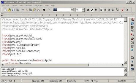 DJ Java Decompiler 3 9 Download (Free) - DJ exe