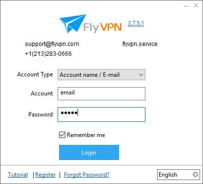 FlyVPN 3 7 Download (Free trial) - FlyVPN exe