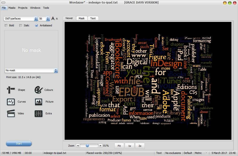 Word Cloud Viewer