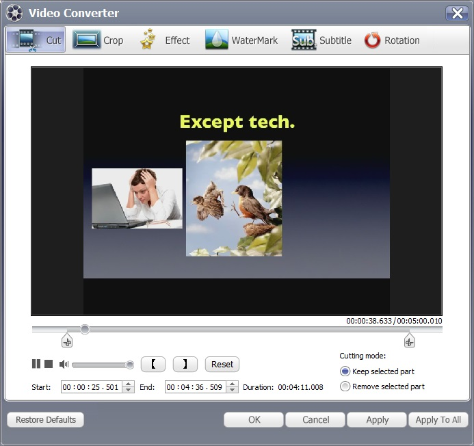 easiestsoft video converter 2.9.0