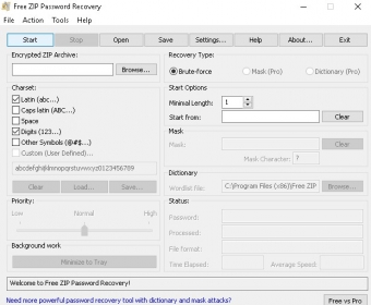 Free ZIP Password Recovery - Software Informer  Recovers