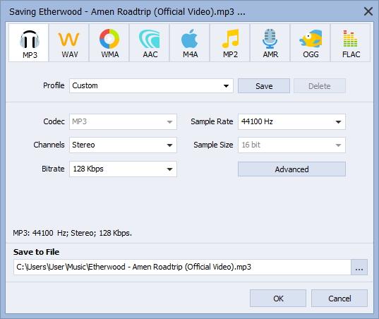 Exporting Audio File