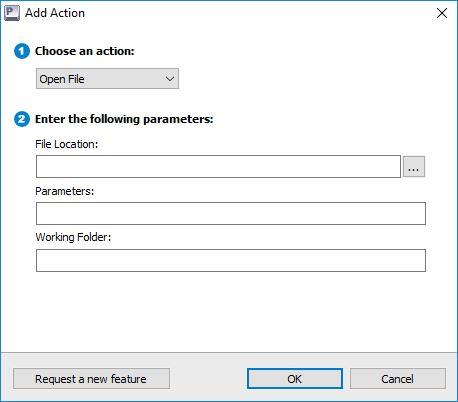 Adding Action To Hotkey Profile
