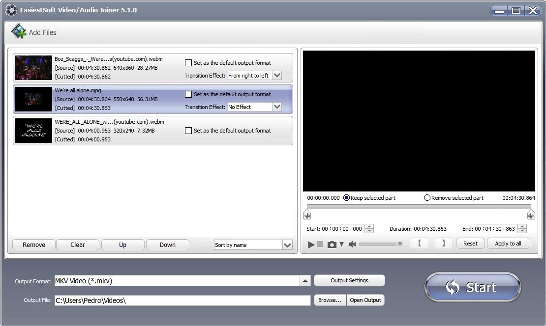 Audio/Video Joiner