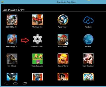 android bluestacks version 0.7.7.813